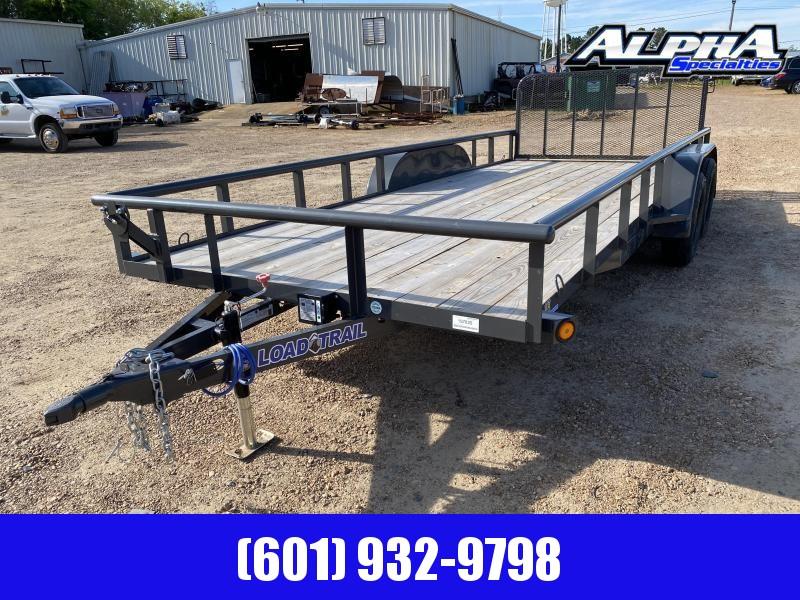"2020 Load Trail  83 x 18 Tandem Axle Utility Trailer (2"" x 3"" Angle Frame) 7K GVWR"