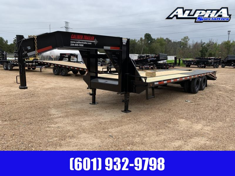 2019 Caliber 8' x 25' Gooseneck / Equipment Trailer