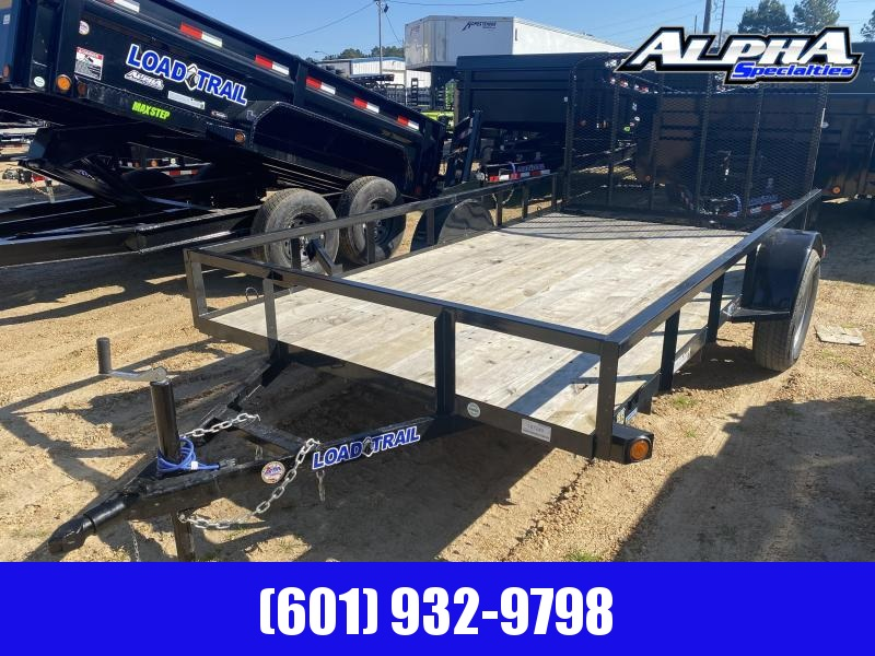 2020 Load Trail SE03 - Single Axle Landscape 77 x 12 Utility Trailer 3K GVWR