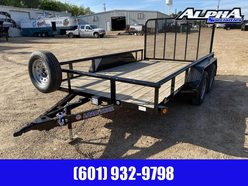 "2020 Load Trail UT07 -  83 x 12 Tandem Axle Utility Trailer  (2"" x 3"" Angle Frame) 7K GVWR"