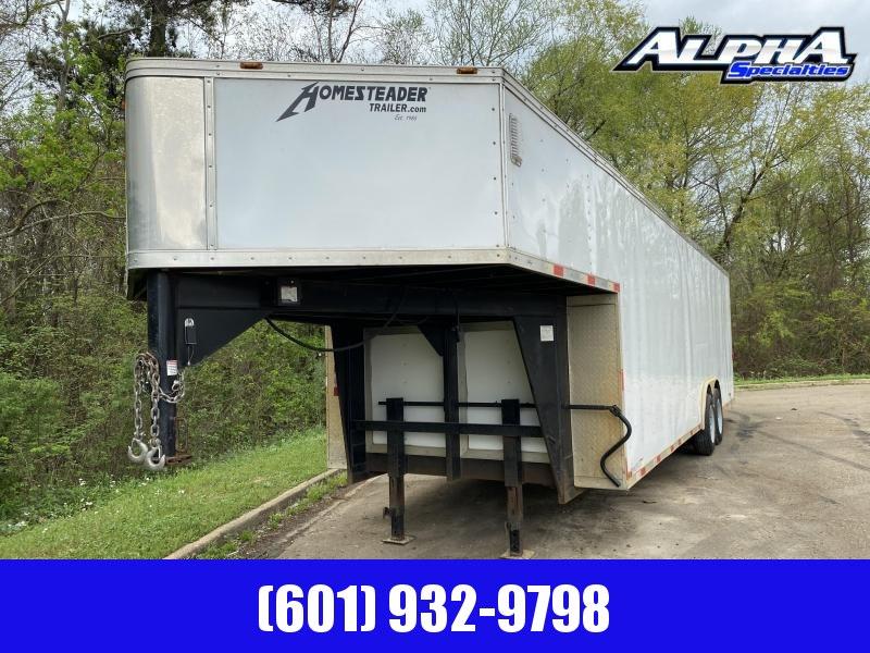 2017 Homesteader 8.5 X 34 834 Tandem Axle Gooseneck Enclosed Cargo Trailer