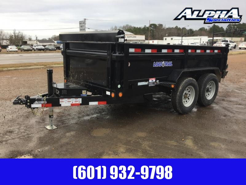 "2020 Load Trail 72"" x 12' Tandem Axle Dump Trailer"