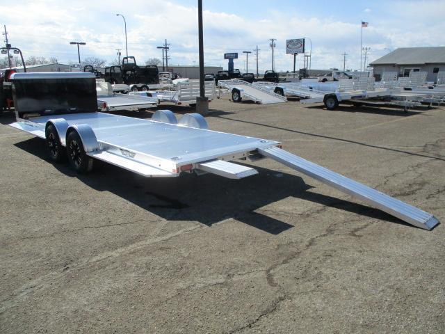 2021 Aluma 8222H-XL-TA-EL-R-RTD Car / Racing Trailer