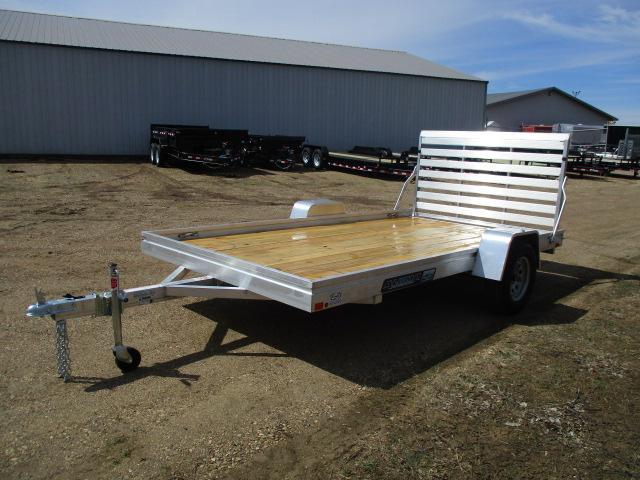 2020 Aluma 7812 Edge Series Wood Deck Utility Trailer