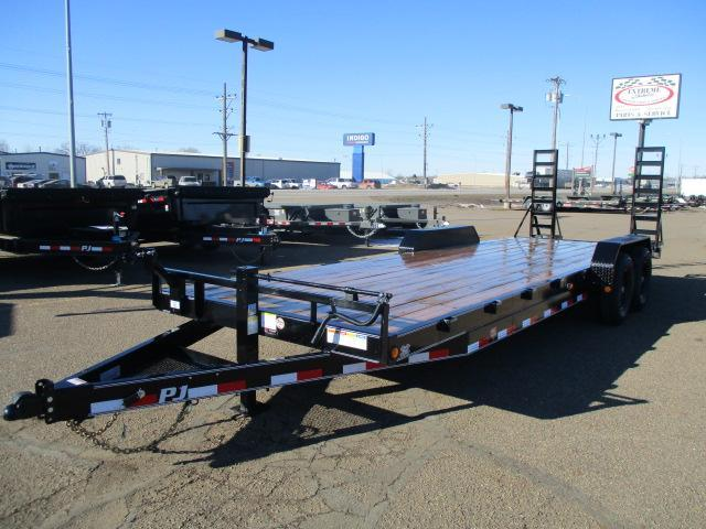 "2020 PJ Trailers 24' x 6"" Channel Equipment Trailer"