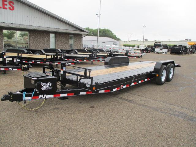 2020 PJ Trailers 22' Powered Full Tilt Trailer