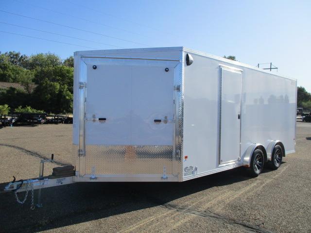 2020 EZ Hauler EZES7.5X18-ELITE Enclosed Snowmobile Trailer