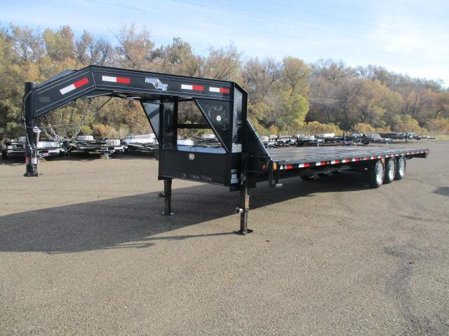 2009 Load Trail 30 Gooseneck Flatbed Trailer