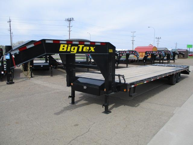 2020 Big Tex Trailers 16GN-25BK+5MR Flatbed Trailer