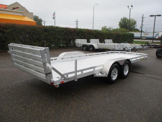 2020 Aluma 7820 BT Tandem Axle Utility Trailer