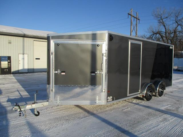 2020 EZ Hauler EZES7.5X18-ELITE Enclosed Snowmobile Trailer