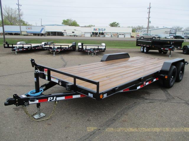 2020 PJ Trailers 5 Channel Equipment Trailer