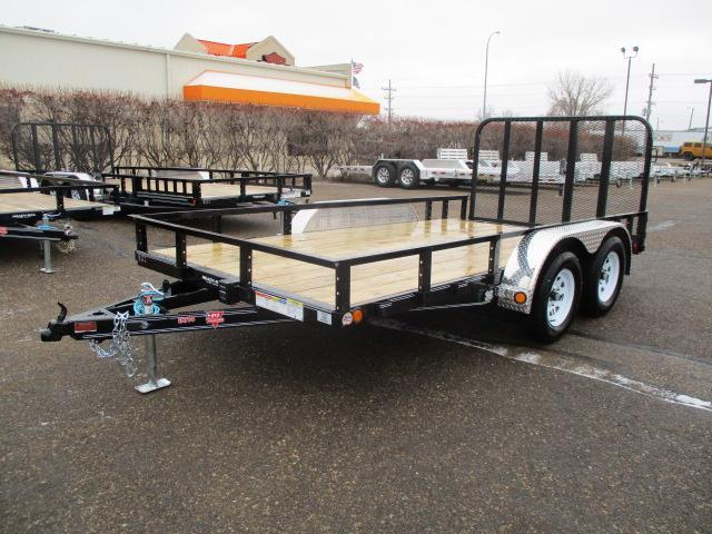 "2020 PJ Trailers 14'x83"" Tndm Axle Channel Utility Trailer"