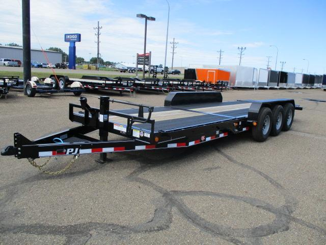 "2020 PJ Trailers 24'x6"" Channel Equipment Tilt Trailer"