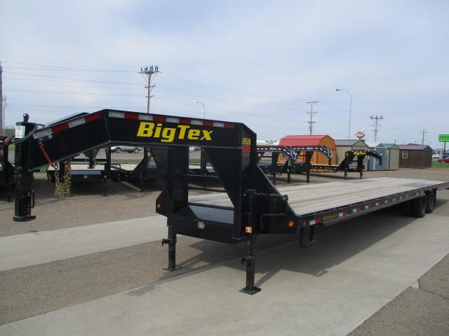 2020 Big Tex Trailers 22GN-40BK8SIR Flatbed Trailer