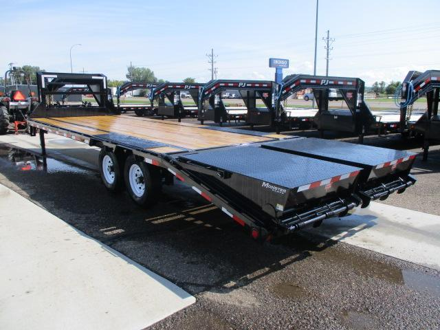 2020 PJ Trailers Low-Pro Flatdeck with Singles Flatbed Trailer