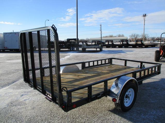 "2020 PJ Trailers 12' x 77"" Sngl Axle Channel Utility Trailer"