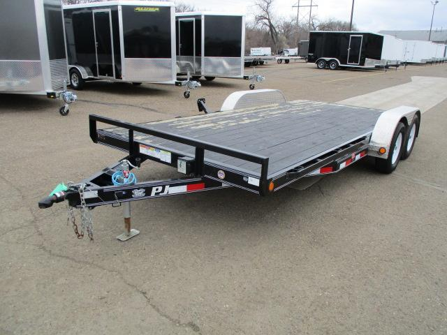 "2018 PJ Trailers 5"" Channel Carhauler Car / Racing Trailer"