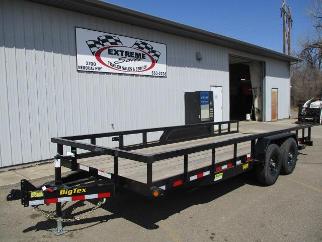 2020 Big Tex Trailers 14PI-20BK Equipment Trailer