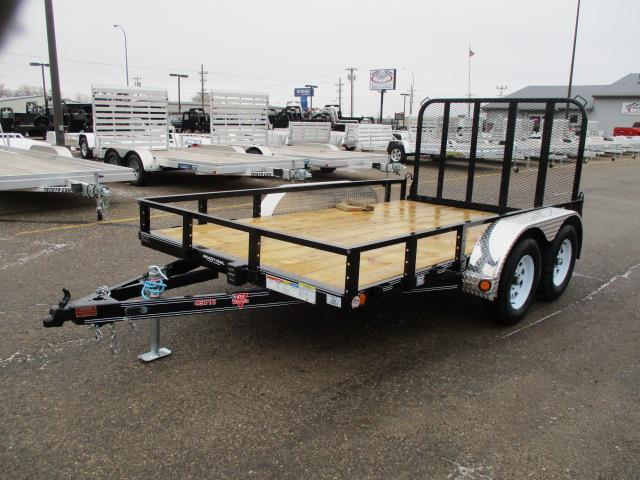 "2020 PJ Trailers 12'x83"" Tndm Axle Channel Utility Trailer"