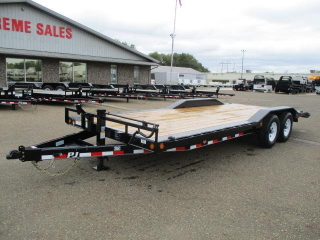 "2020 PJ Trailers 22' x 6"" Channel Super-Wide Trailer"