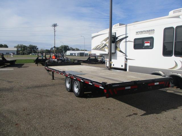 2014 Diamond C Trailers 22 Deckover Flatbed Trailer