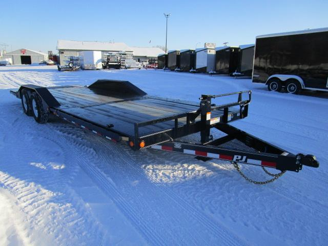"2019 PJ Trailers 24' x 6"" Channel Super-Wide Tilt Trailer"