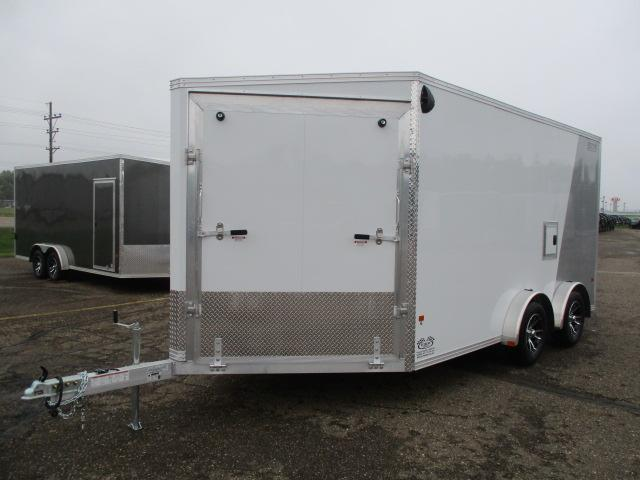 2020 EZ Hauler EZES7.5X14-ELITE Enclosed Snowmobile Trailer