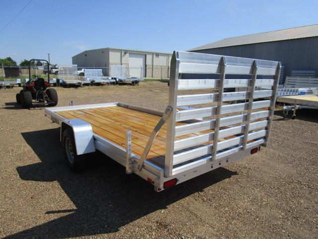 CLEARANCE 2019 Aluma 7814 Edge Series Wood Deck Utility Trailer