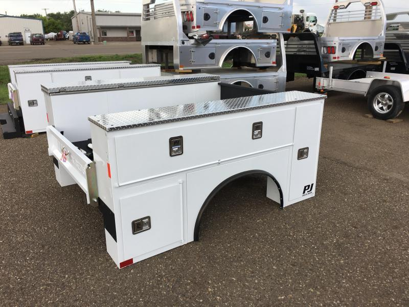 CLEARANCE 2018 PJ Truck Beds PJG8178VHFS Truck Bed Service Body