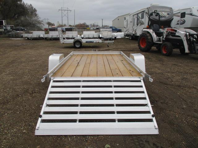 2020 Aluma 6810 Edge Series Wood Deck Utility Trailer