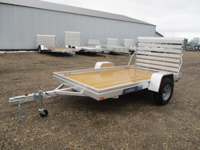 2020 Aluma 6810 Edge Series Wood Deck Utility Trailer