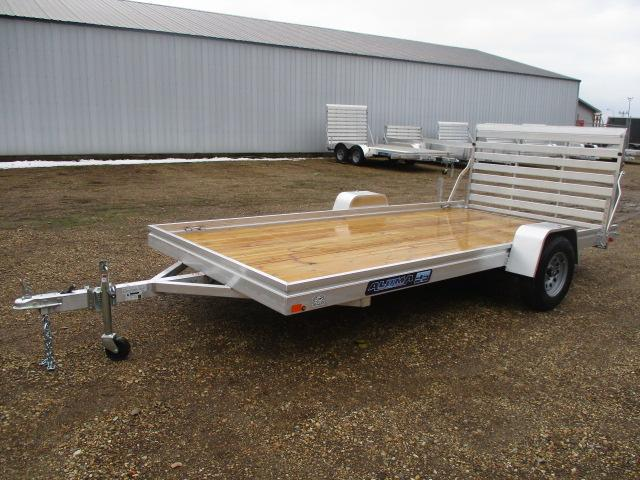2020 Aluma 7814 Edge Series Wood Deck Utility Trailer