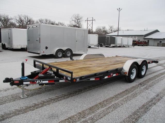 "2020 PJ Trailers 20' x 83"" Hydraulic Quick Tilt Trailer"
