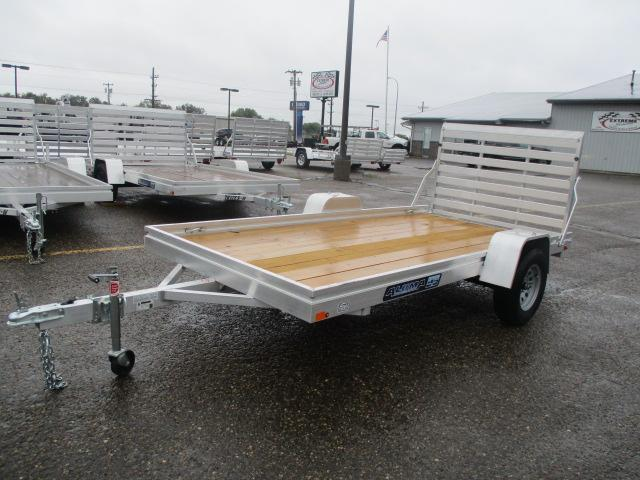 2020 Aluma 6812 Edge Series Wood Deck Utility Trailer