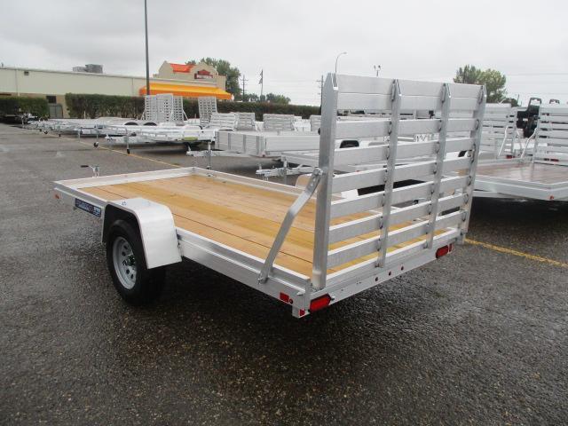 2020 Aluma 6812 Edge Series Wood Deck Utility Trailer