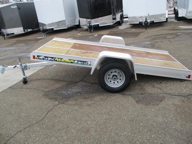 2021 Aluma 8605FTILT Snowmobile Trailer