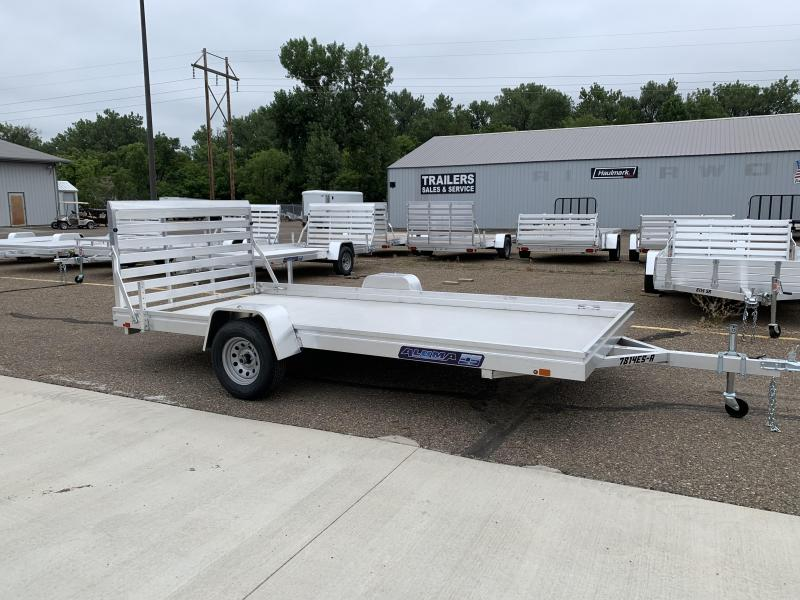 CLEARANCE 2019 Aluma 7814 Edge Series Utility Trailer