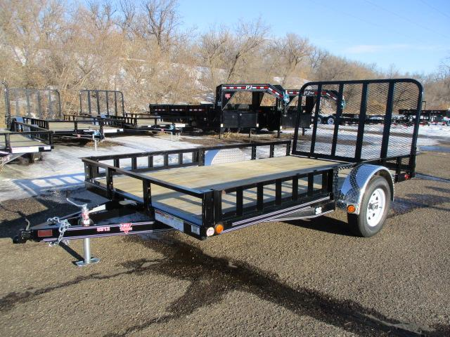 "2020 PJ Trailers 12'x83"" Single Axle Channel Utility Trailer"