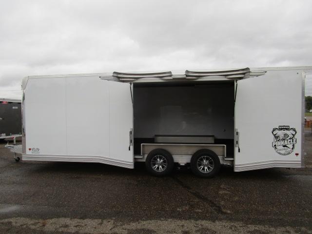 2019 Mission C8.5X24CH-IF Enclosed Cargo Trailer Car Hauler B020075