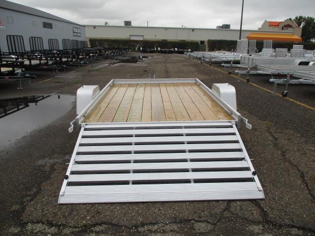 2020 Aluma 7810 Edge Series Wood Deck Utility Trailer