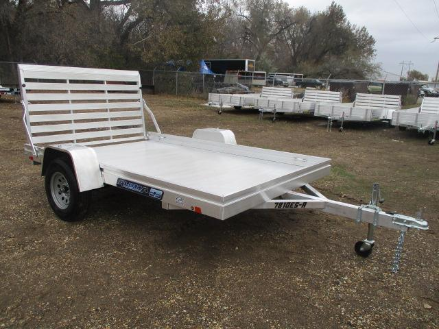 2020 Aluma 7810 Edge Series Deck Utility Trailer