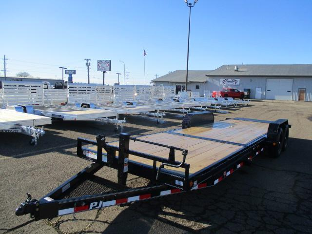 "2020 PJ Trailers 24' x 6"" Channel Equipment Tilt Trailer"