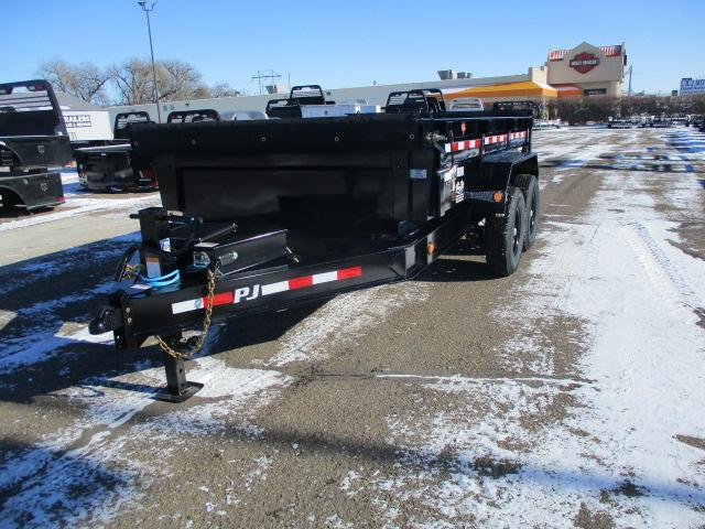 "2020 PJ Trailers 12' x 83"" Low Pro Dump Trailer"