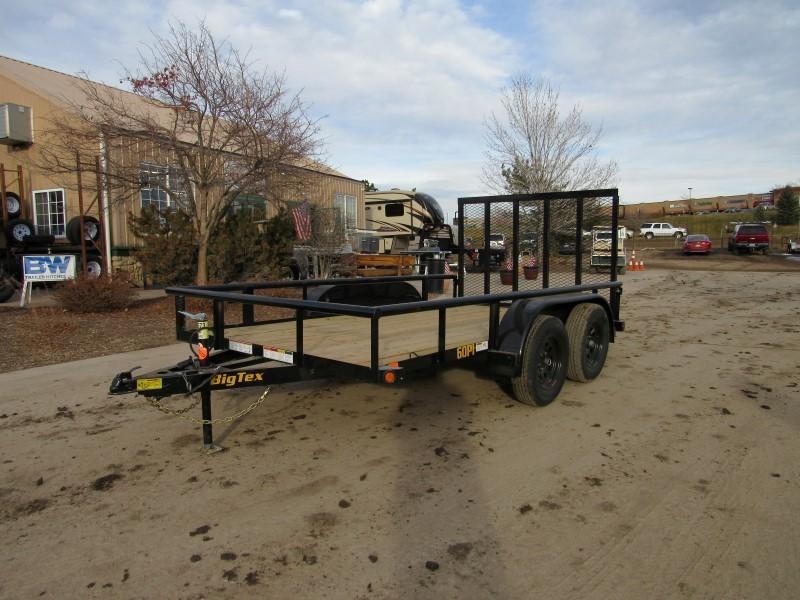 2020 Big Tex Trailers 60PI-12BK4RG Utility Trailer
