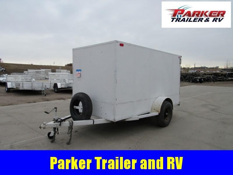 1990 Homemade 5X10 CARGO Enclosed Cargo Trailer