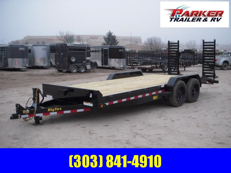 2019 Big Tex Trailers 16ET-17+3 Flatbed Trailer