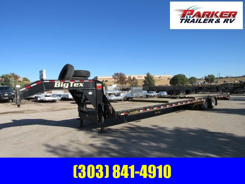 2016 Big Tex Trailers 22GN-35+5 Flatbed Trailer