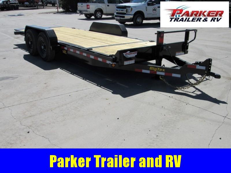 2020 Big Tex Trailers 14TL-20BK Flatbed Trailer