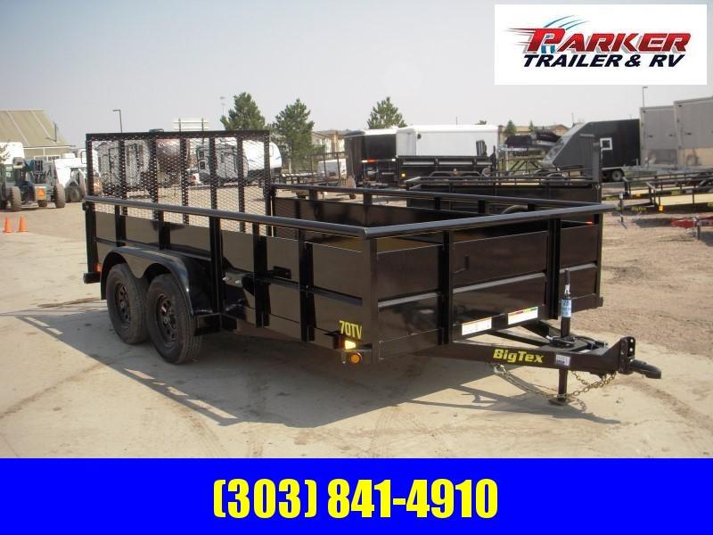 2020 Big Tex Trailers 70TV-14 Utility Trailer